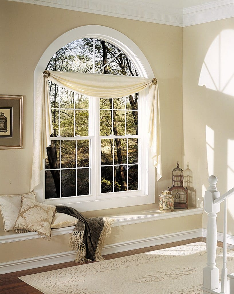 Room with Double Hung Window